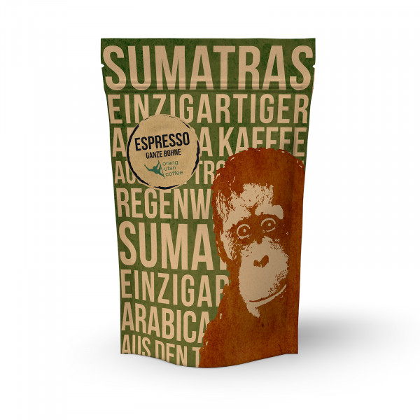 Indonesien Orang-Utan-Espresso